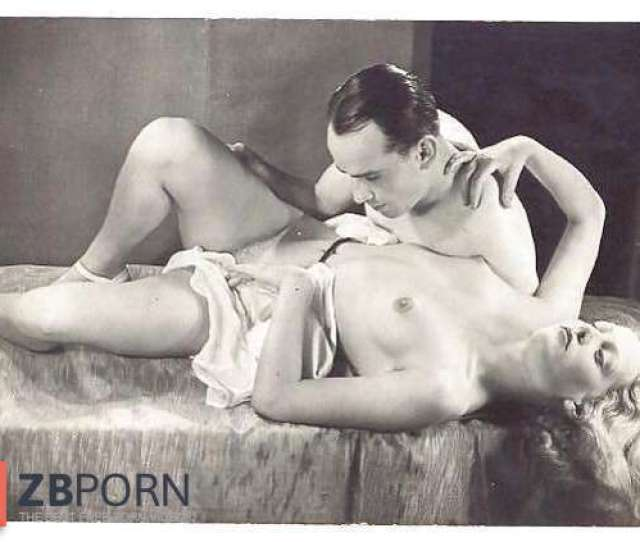 Vintage Erotic Picture Art 11 Naked Model 8 Couples