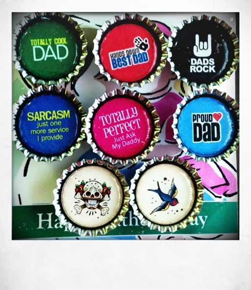 Cool Magnets for Daddy!