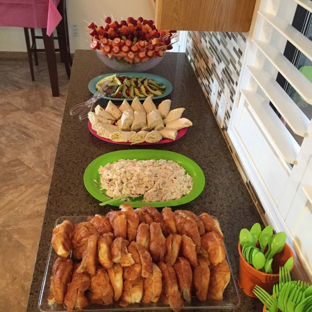 Food, food and more food!