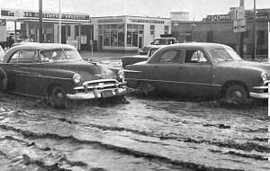 Albuquerque Historical Society - $th St Flooding - AMAFCA photo