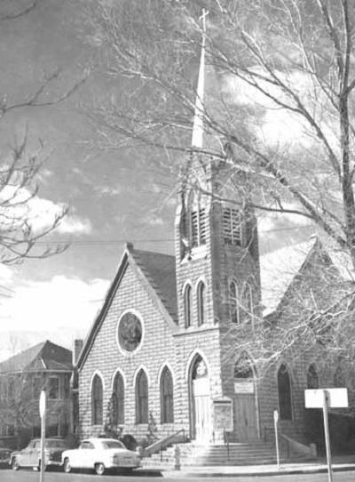 Albuquerque Historical Society -First Methodist Church