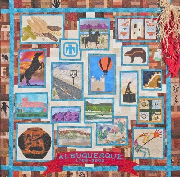 Tricentennial Quilt, Courtesy Albuquerque Museum, Albuquerque Historical Society