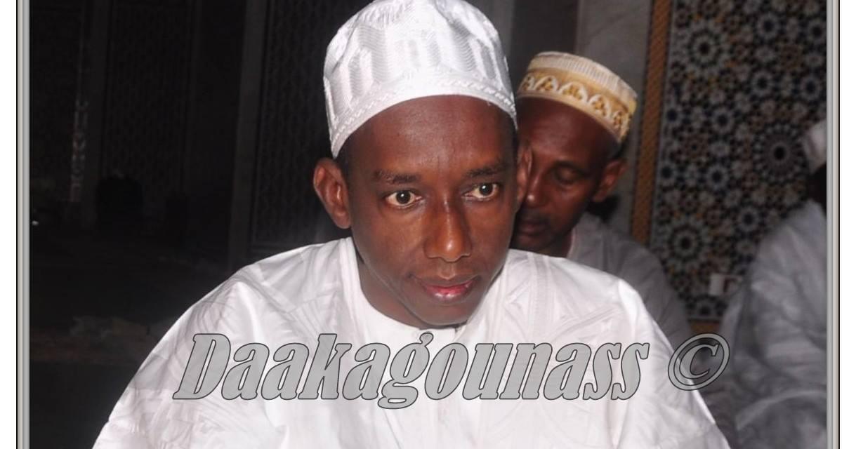 A dieu Thierno Ibun Baayel, fils du Khalif de Madina Gounass