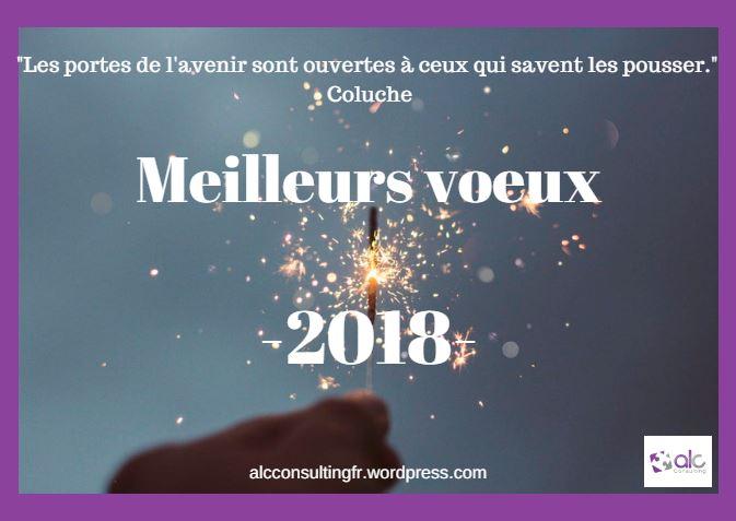 Le mot du jour : Meilleurs voeux 2018