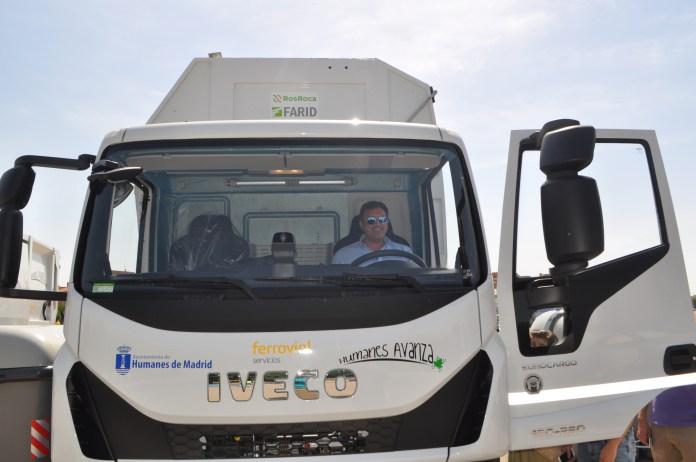 Humanes camiones basura alcalde