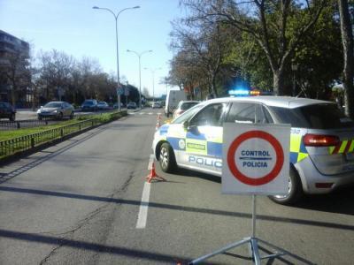Control Policía Alcorcón