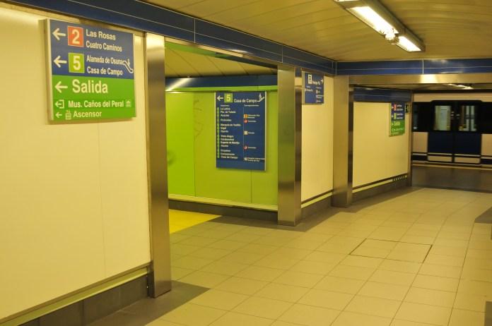 linea cinco metro