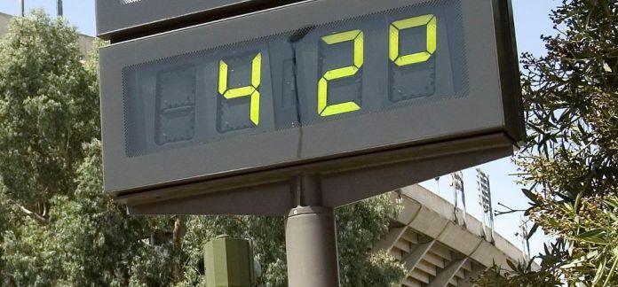 Imagen altas temperaturas