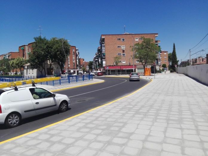 calle mostoles fuenlabrada obras