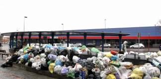Huelga basura