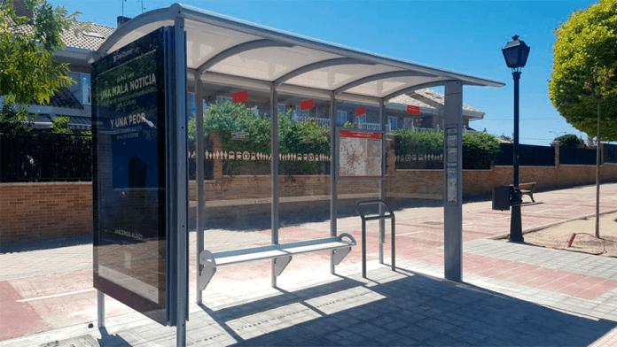 parada bus arroyomolinos
