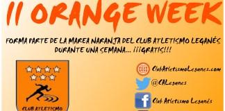 Orange Week Atletismo Leganés