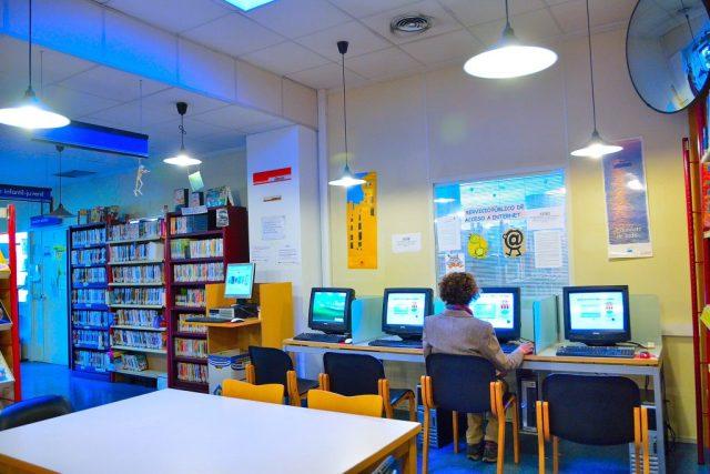 bibliotecas alcorcon