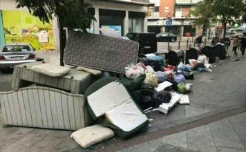 sillones basura