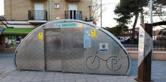 parking bicis pinto