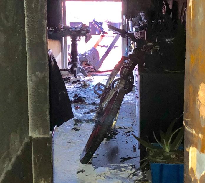 incendio de una vivienda de alcorcon