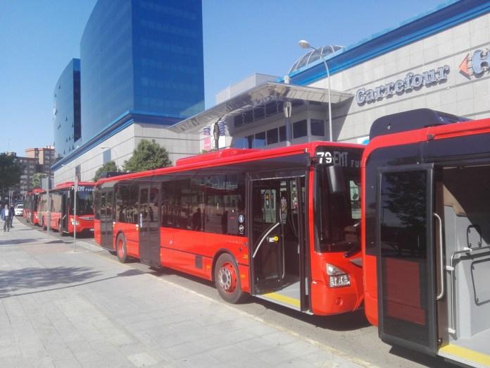 nuevos autobuses fuenlabrada