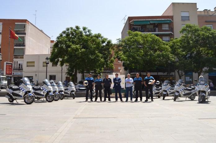 POLICIA PROXIMIDAD ALCORCON MOTOCICLETAS