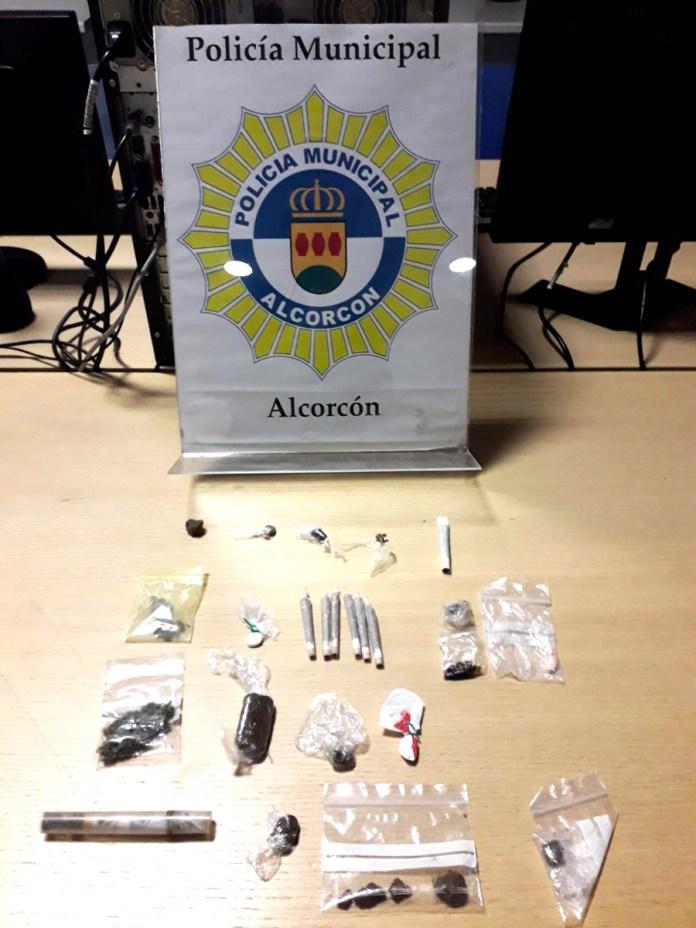 policia alcorcon drogas