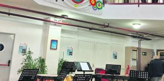 interior escuela maestro gombau getafe
