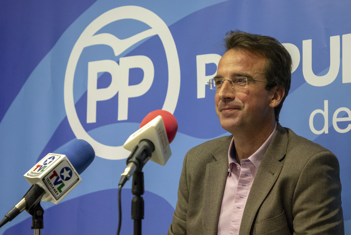 Miguel Ángel Recuenco, candidato del PP a la Alcaldía de Leganés ...