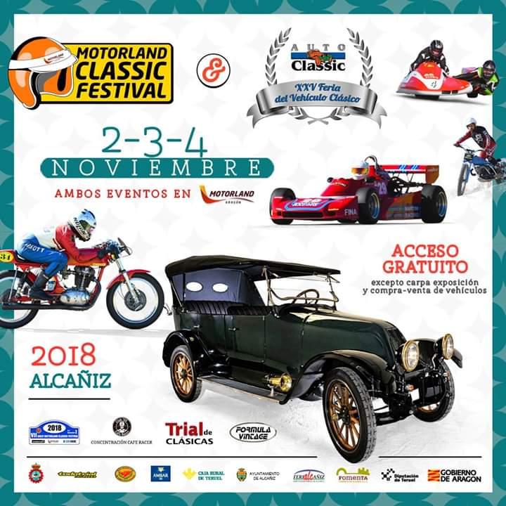 Autoclassic 2018 celebra su 25 aniversario
