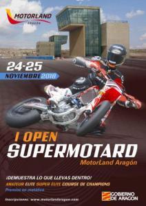 I Open Supermotard MotorLand Aragón