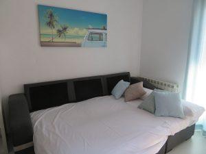Sofá cama comedor Apartamentos Turísticos Alcañiz Flats I