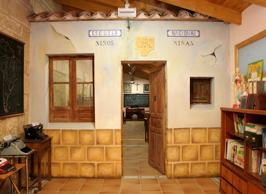 Museo de la escuela en Alcorisa