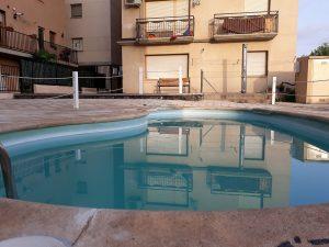 Piscina comunitaria Turísticos Alcañiz Flats I