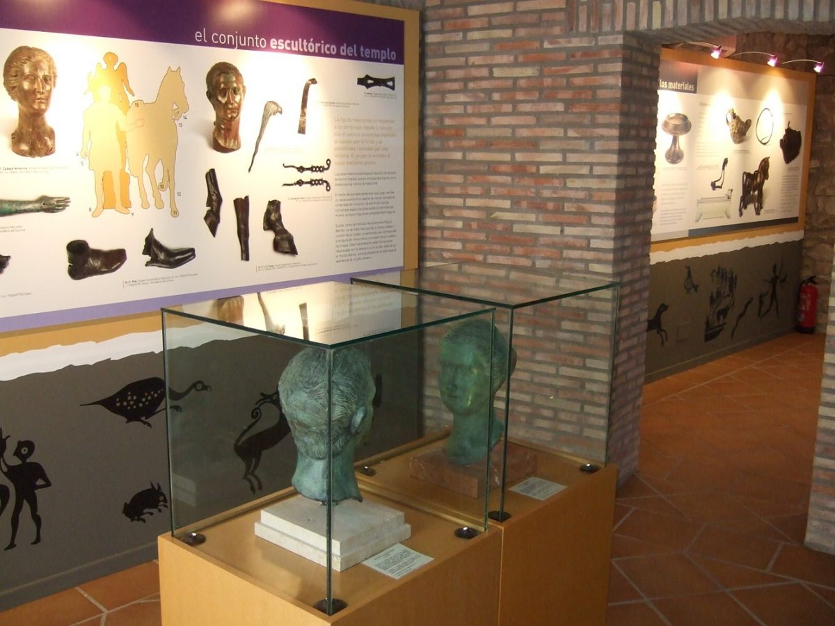 Cabezo de Alcalá, centro de visitantes de Azaila turismo bajo aragon