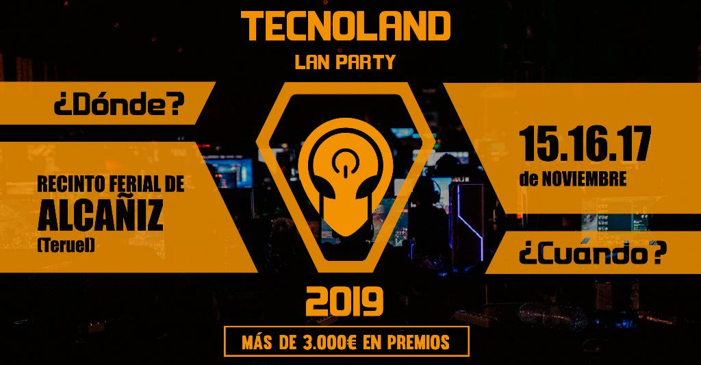Tecnoland Alcañiz Lan Party 2019