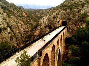 Vía verde val de zafan Alcañiz Tortosa