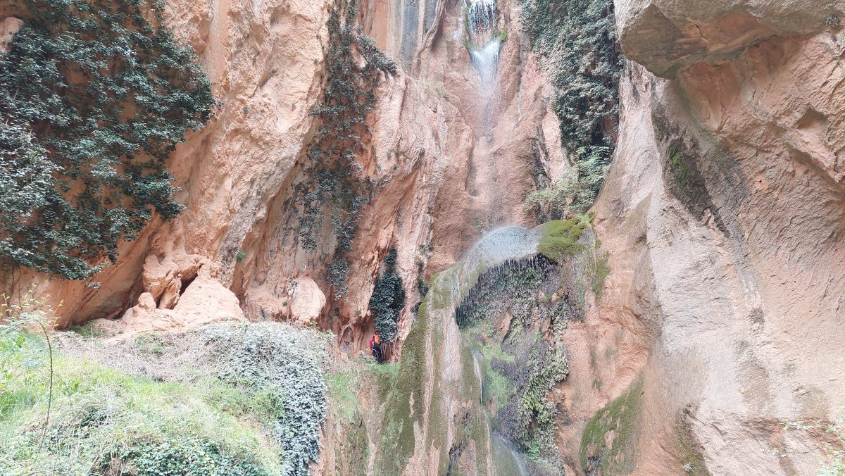 Excursión al Pozo del Salto en Molinos