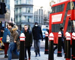 Gran Bretaña está en un punto de inflexión del COVID-19, ministro de Salud