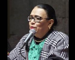 AMLO propone a Rosa Icela Rodríguez como nueva titular de Seguridad