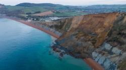 La Costa Jurásica inglesa pierde un pedazo tras el mayor desprendimiento en 60 años
