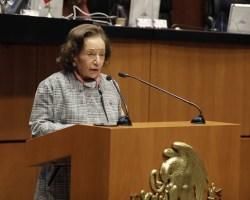 Propone Jucopo del Senado otorgar la Medalla Belisario Domínguez a Ifigenia Martínez