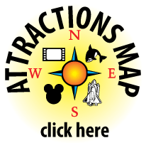 Attractions Map Orlando Area Theme Park Map Alcapones Com