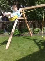 Cedar Swingset