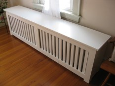 Custom Radiator Cover, Adam Lakari Carpentry, South Portland Maine