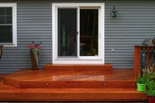 Cumaru Deck - Front View