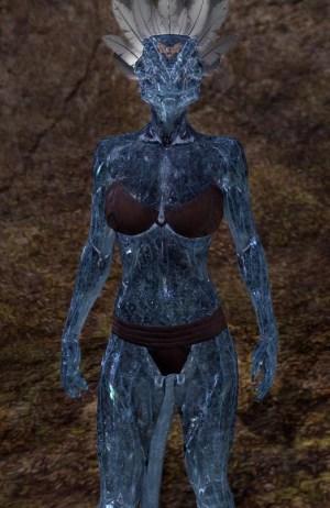 Frosthaunt Glister skin eso argonian