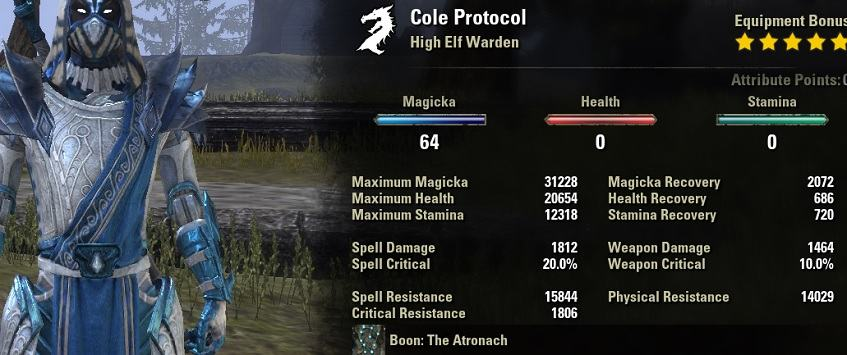 Magwarden PvP Build