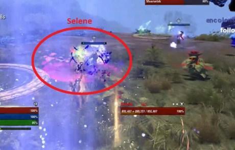 boss 5 kill selene