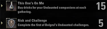 Undaunted Beginner Guide Achievements
