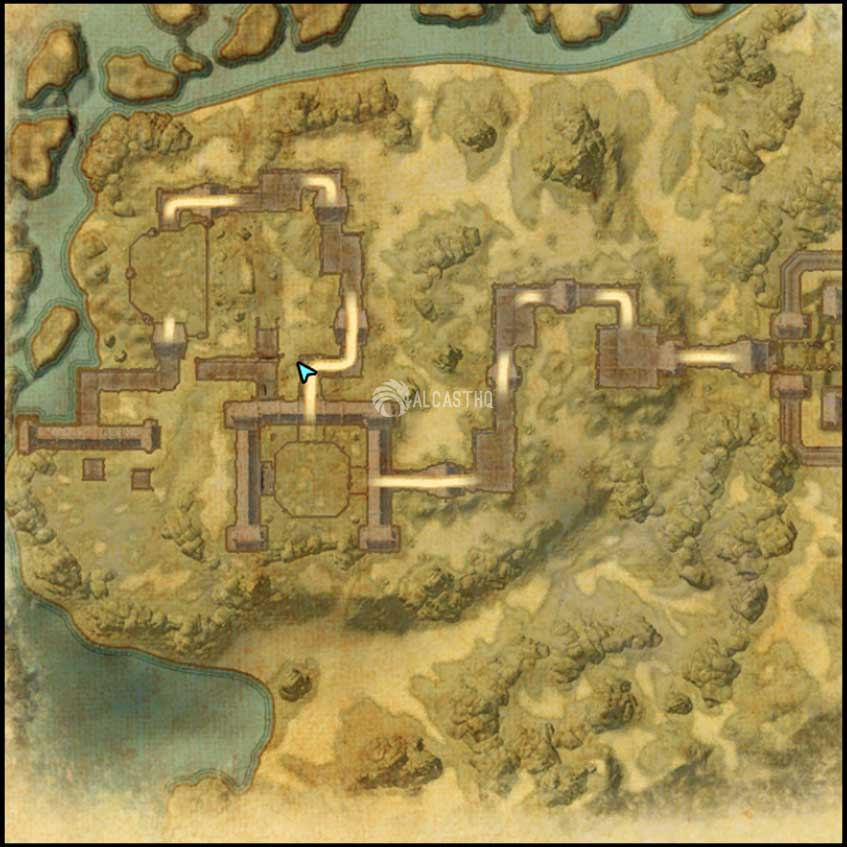 Icereach map 2 ESO Dungeon Harrowstorm DLC