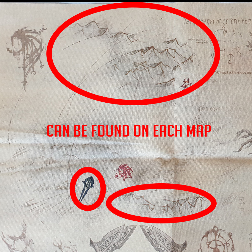 Map Hint markers Skyrim Map ESO