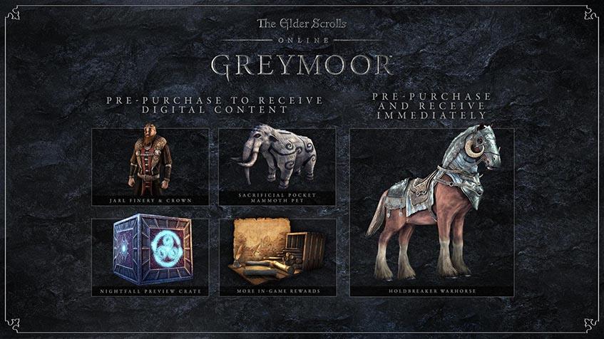 Pre Order Bonus Greymoor Chapter