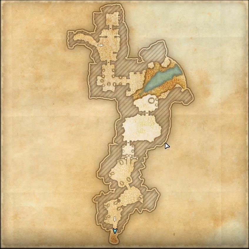 Unhallowed Grave Dungeon map 2